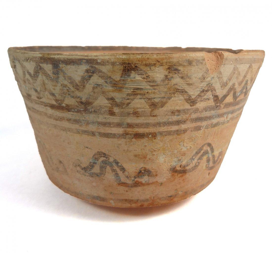 Indus Valley ceramic bowl, Nal culture - 2