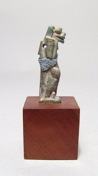 Egyptian faience amulet of the goddess Taweret - 2