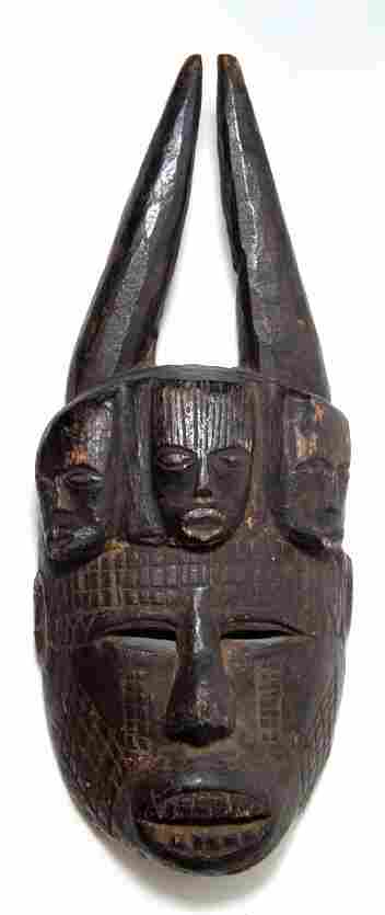 Anthropomorphic mask from the Ibo tribe