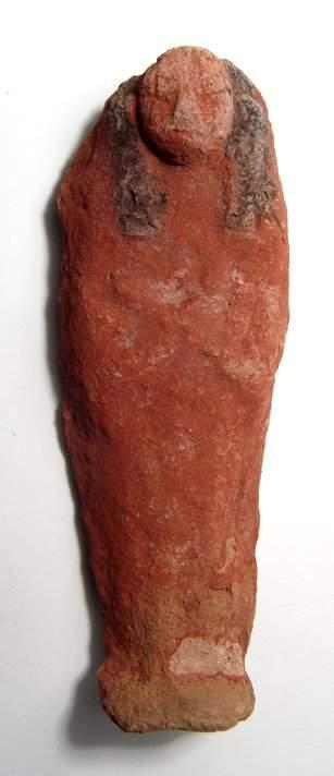 A nicely painted Egyptian terracotta ushabti