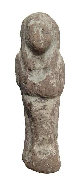 Egyptian terracotta ushabti, 3rd Intermediate Period