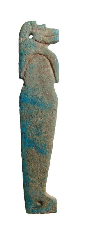 Egyptian blue faience image of Duametef