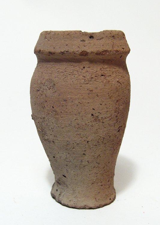 Egyptian ceramic offering jar, Old Kingdom