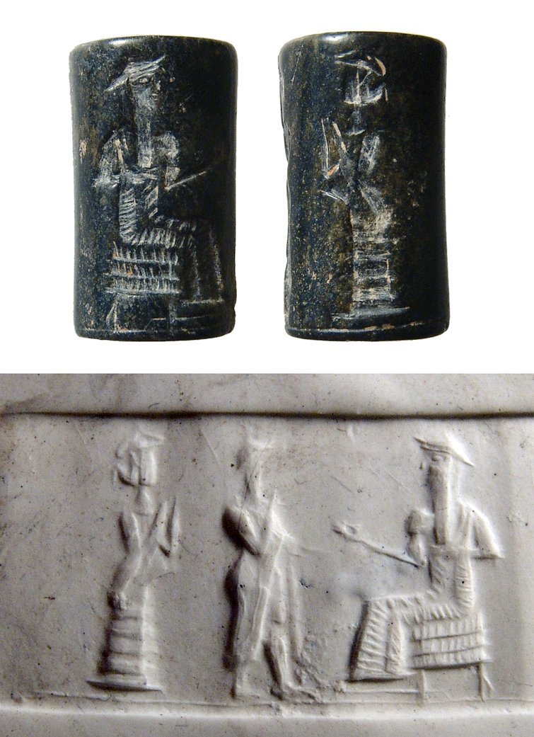 An Old Babylonian cylinder seal