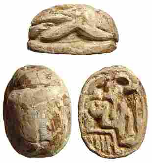 Levantine scarab in Egyptian style, New Kingdom period