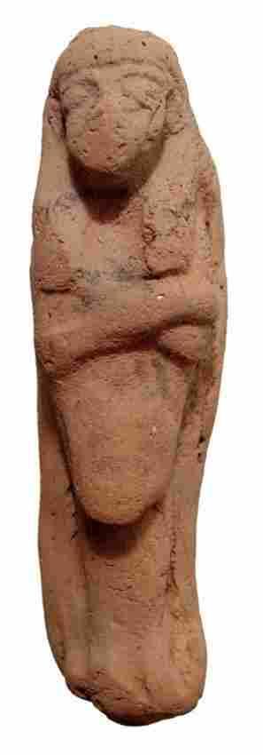 Egyptian Late New Kingdom terracotta Reis ushabti