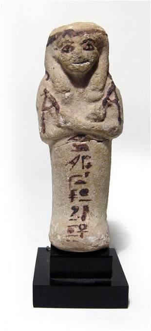 A nice Egyptian 3rd Intermediate ushabti