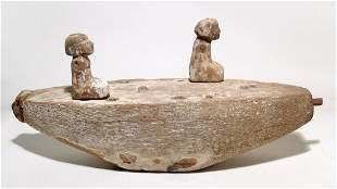 Egyptian wood boat with rowers, Middle Kingdom