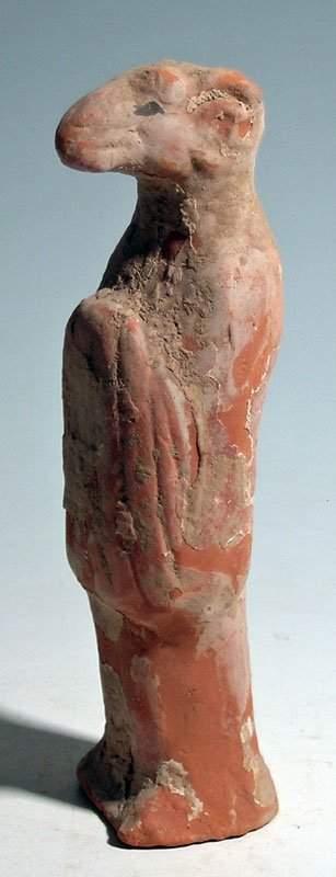 Tang Dynasty Zodiac figure, circa 10th Century AD