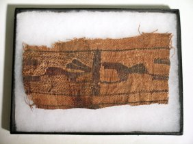 A Fine Coptic Textile Fragment From Egypt, Ca. 3rd -
