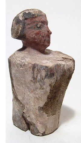 A nice  Egyptian wood figure, Middle Kingdom