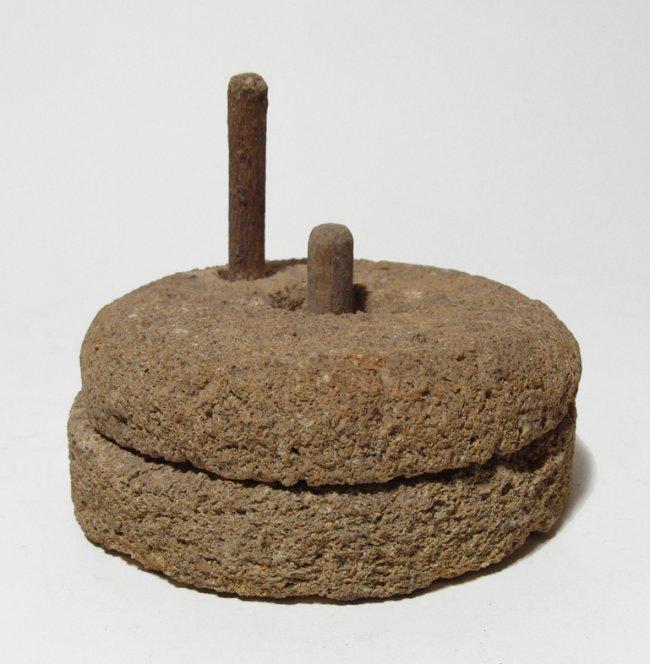 Egyptian stone model of a millstone, Old Kingdom