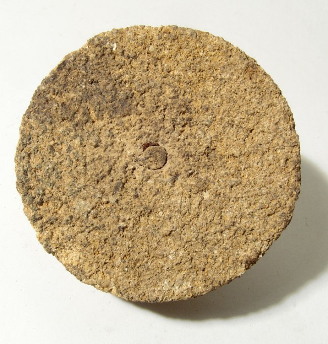 Egyptian stone model of a millstone, Old Kingdom - 4