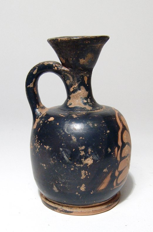 A Greek red-figure lekythos with palmette - 2