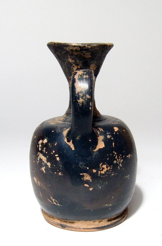 A Greek red-figure lekythos with palmette - 4