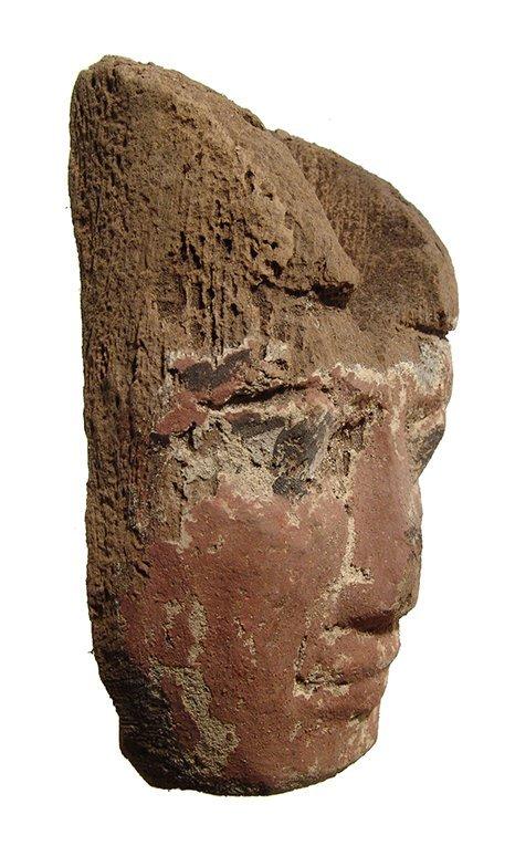 Egyptian mummy 'mask', 3rd Intermediate Period - 2