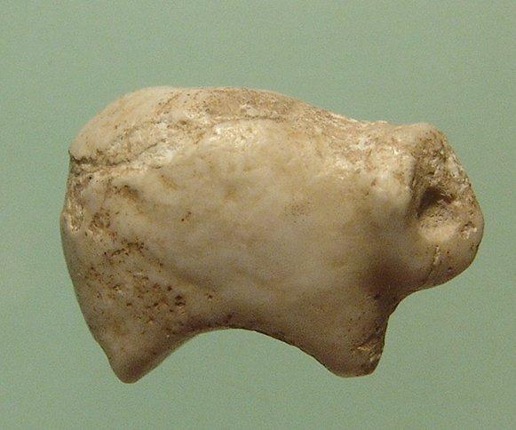 Sumerian marble amulet of a Hedgehog - 2