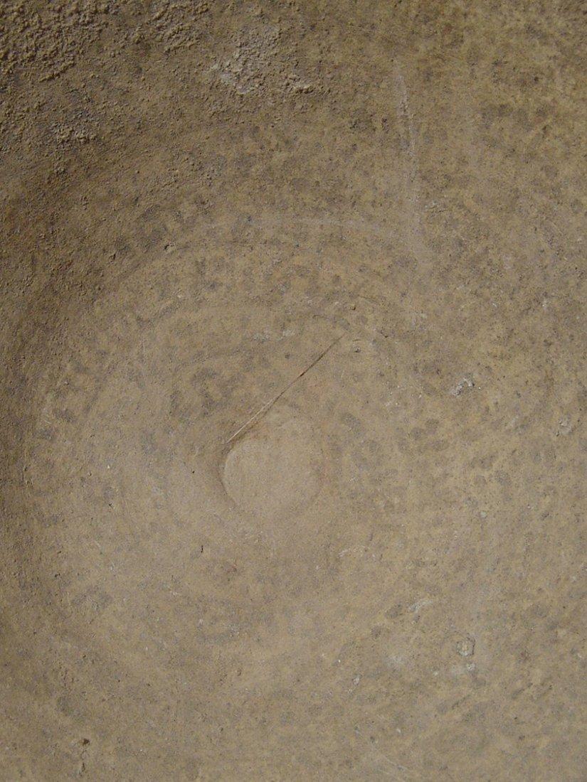 Mesopotamian 'Devil's Trap' or incantation bowl - 3