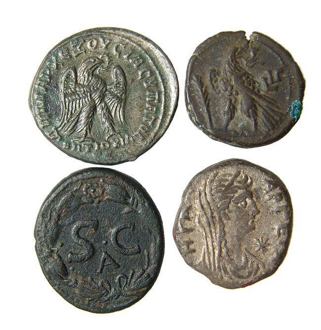 A lot of 4 nice Roman provincial coins - 2