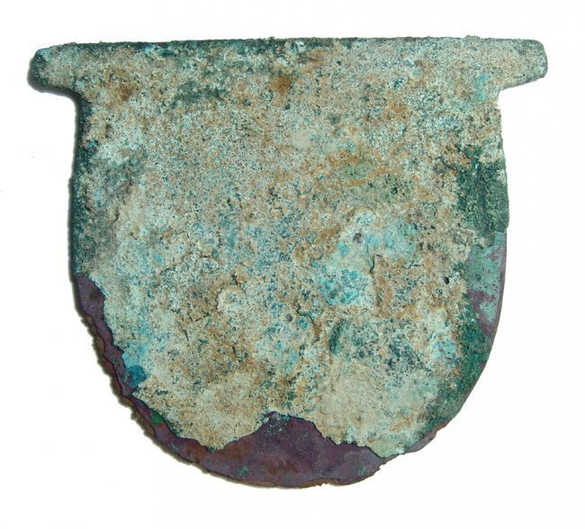 An Egyptian rounded copper axe head - 2