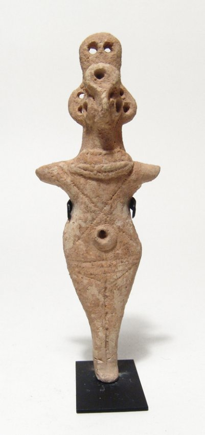 A lovely Syro-Hittite votive figure of Astarte