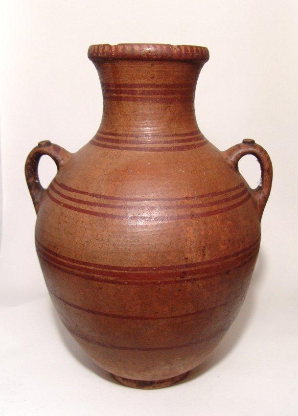 A large Hellenistic lidded amphora - 3