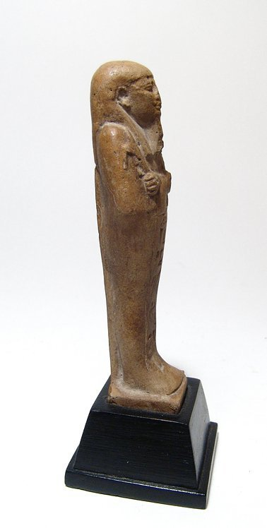 A nice Egyptian faience ushabti, Late Period - 2