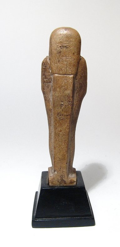 A nice Egyptian faience ushabti, Late Period - 3