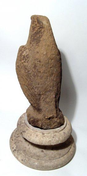 A Roman sandstone eagle - 3