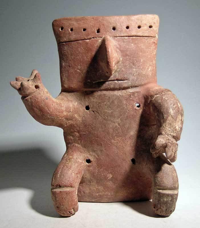 Quimbaya retablo figure from the Middle Cauca region