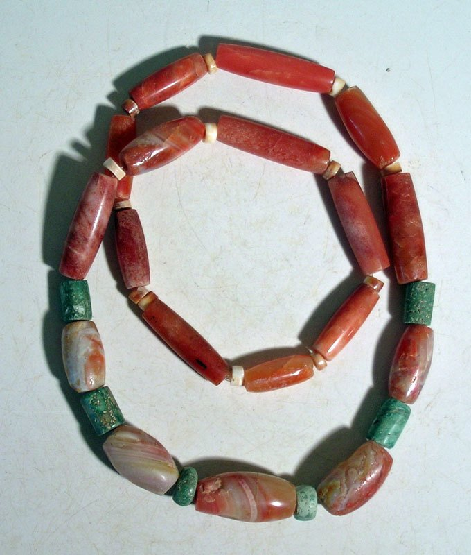 A beautiful Tairona necklace from Colombia
