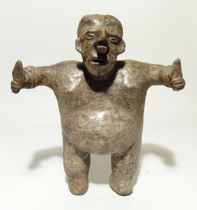 Nayarit figure of a standing man, West Mexico