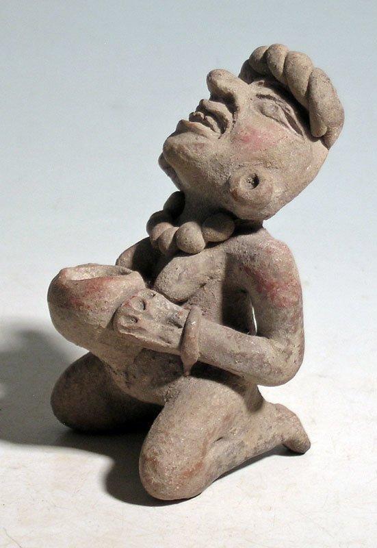 A rare Toltec figurine from Mexico - 3