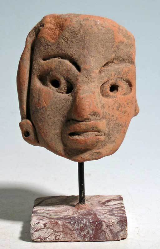 Exceptional Early Maya head fragment from Mexico