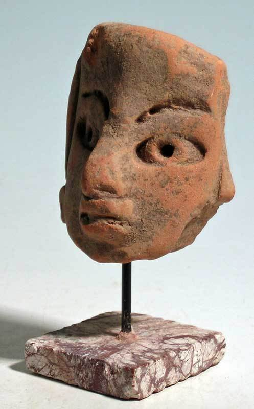 Exceptional Early Maya head fragment from Mexico - 3