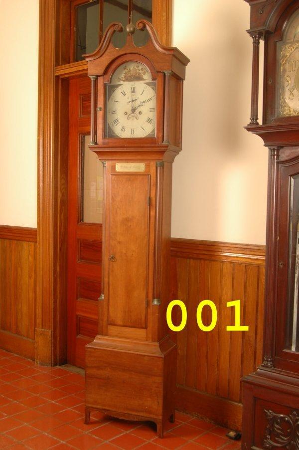 1: American Grand Father clock