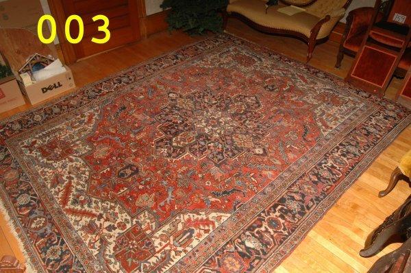 3: Heriz Oriental Carpet