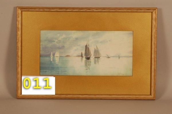 11: Anderson Watercolor 13 x 20 1/2