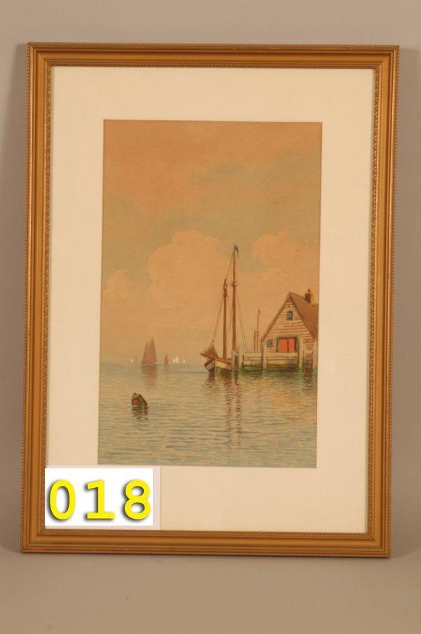 18: T. Bailey Nautical Watercolor