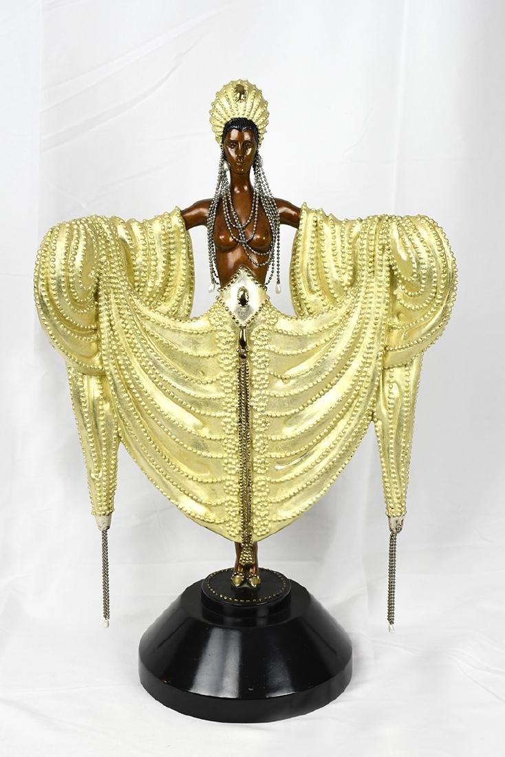Radiance Bronze Erte Sculpture