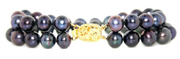 8: 9 mm Fresh Water Pearls Bracelet
