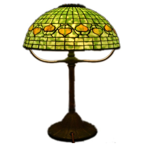 501: Tiffany Studios New York Acorn Lamp