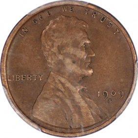 Key Date 1909-S VDB Cent, PCGS VF35, CAC
