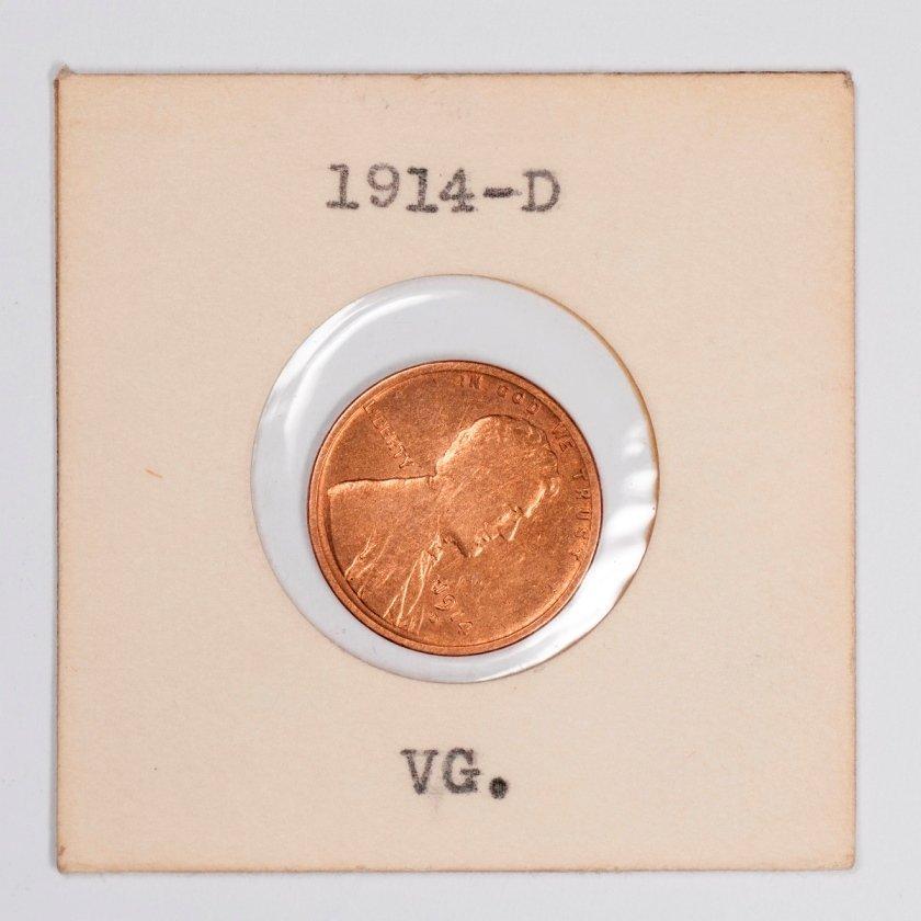 Semi-Key Date 1914-D Lincoln Cent