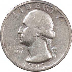Popular 1932-S Quarter, PCGS VF30