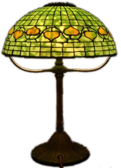 Tiffany Acorn Lamp