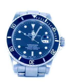 Men's Rolex Submariner Oyster Perpetual Date