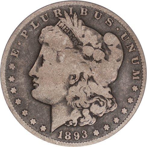 Key Date 1893-S Morgan $1, PCGS G06 (67239)
