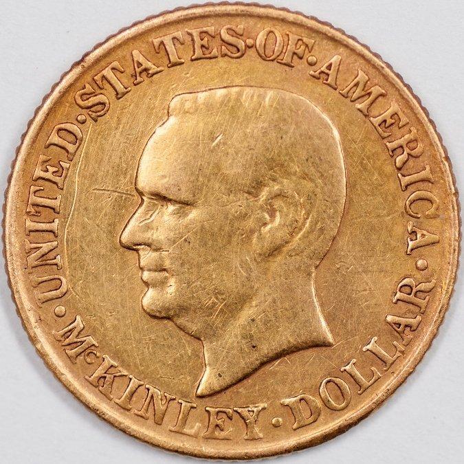 1917 McKinley Gold Dollar (64257)