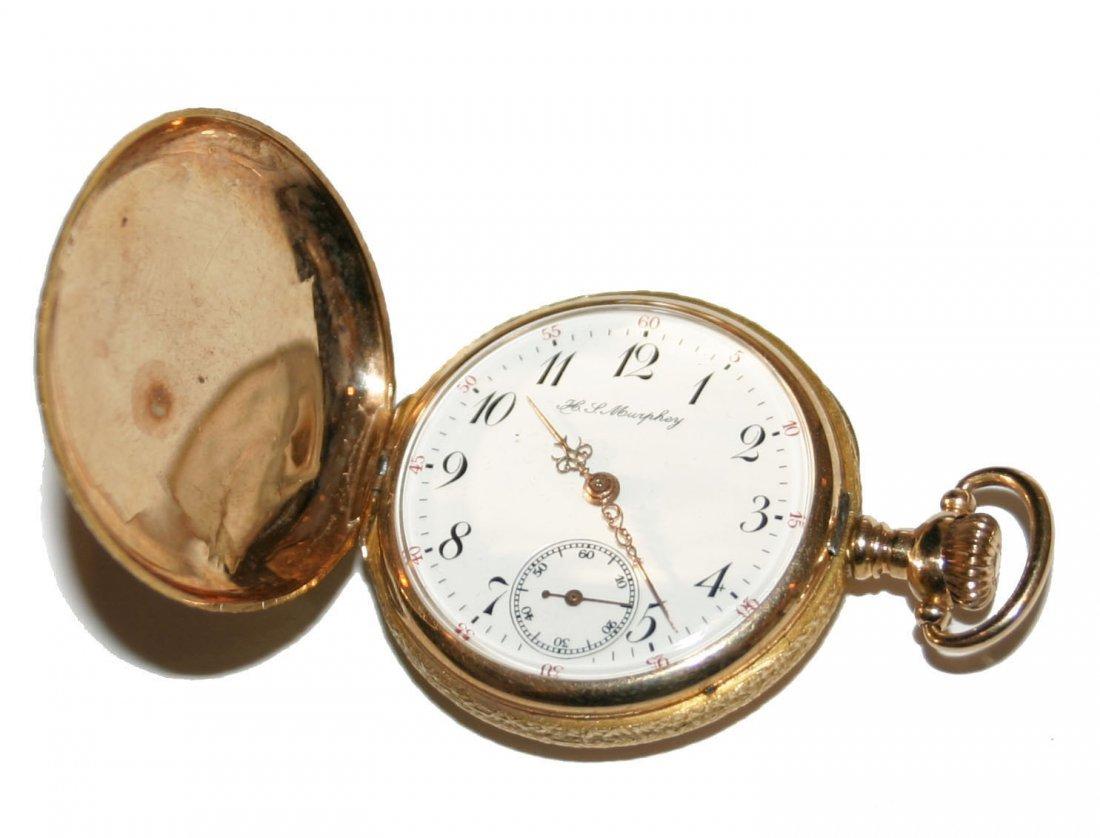 Murphey 14k Gold Pocket Watch (3794)